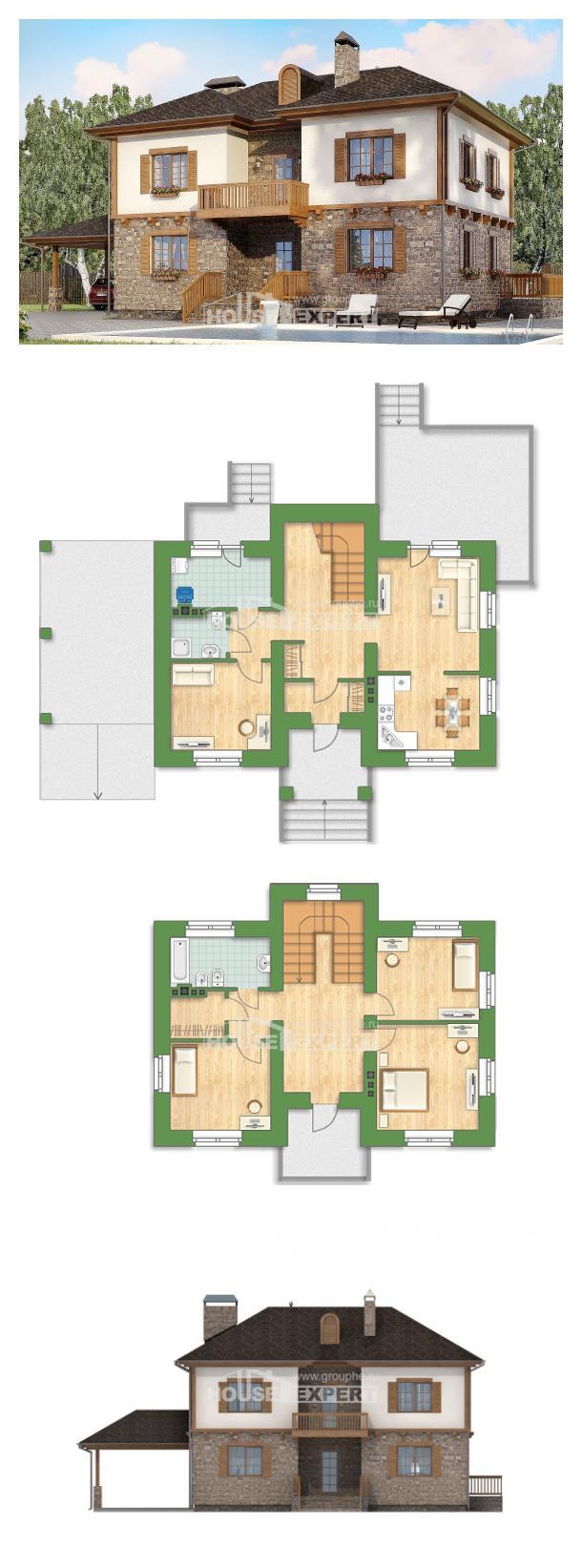 Проект дома 155-006-Л | House Expert