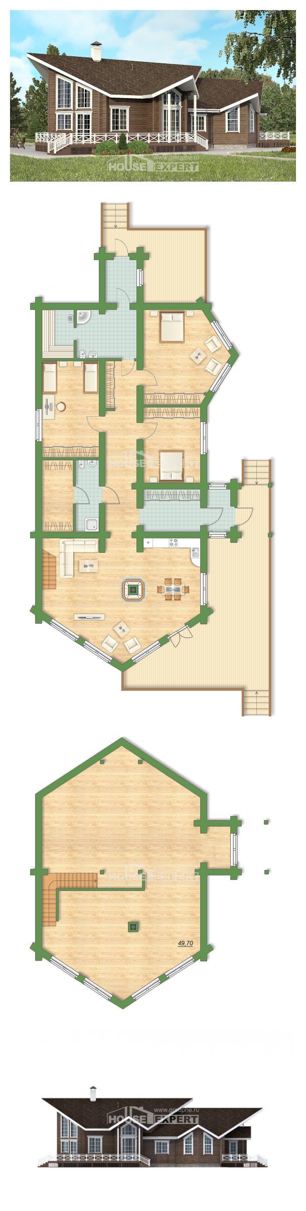 Проект дома 210-002-Л   House Expert