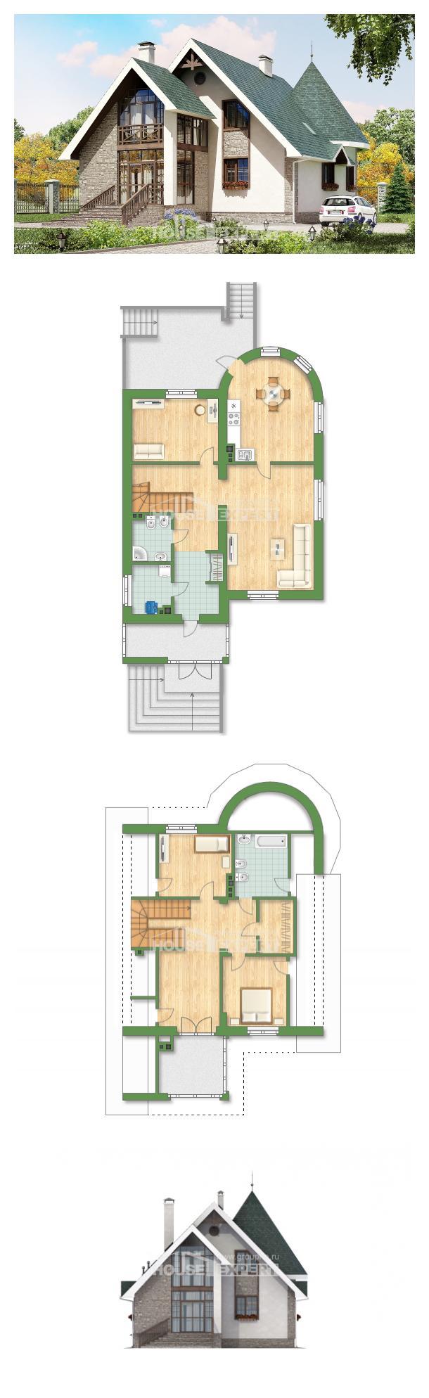 Проект дома 170-003-Л   House Expert