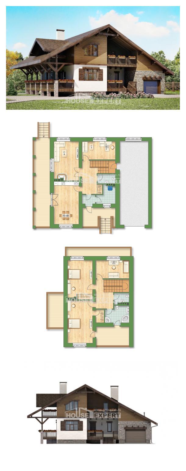 Проект дома 220-005-П   House Expert