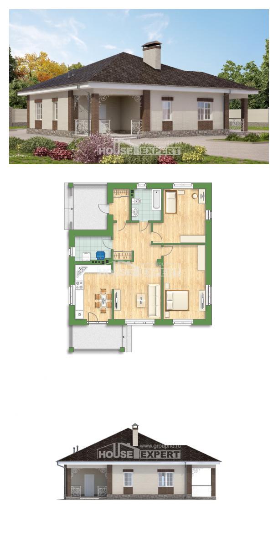 Проект дома 100-004-Л | House Expert